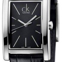ck Calvin Klein Acier 30mm Quartz K4P211C1 nouveau
