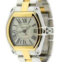 Cartier Roadster Gold/Steel Silver Roman numerals United States of America, New York, New York