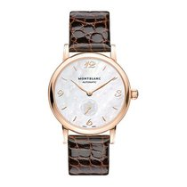 Montblanc Red gold Automatic White Arabic numerals 34mm new Star Classique
