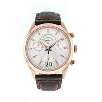Zeno-Watch Basel Chronograph 42mm Quartz new Silver