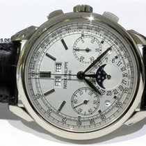 Patek Philippe 5270G-018 Weißgold Perpetual Calendar Chronograph 41mm gebraucht