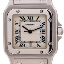 Cartier Santos Galbée Steel 29mm Roman numerals United States of America, California, West Hollywood