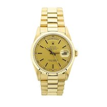Rolex Day-Date 36 Or jaune 36mm Champagne