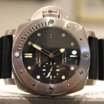 Panerai Luminor Submersible 1950 3 Days Automatic Stål 47mm Svart Inga siffror