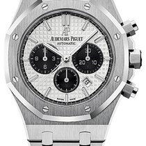 Audemars Piguet Royal Oak Chronograph Сталь 41mm Cеребро Без цифр
