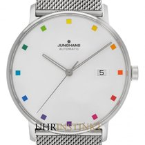Junghans Steel 39.3mm Automatic 027/4937.44 new