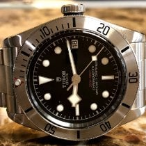 Tudor Black Bay Steel Aço 41mm Preto Sem números