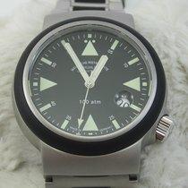 格拉苏蒂 S.A.R. Rescue-Timer 钢 42mm 黑色 无数字