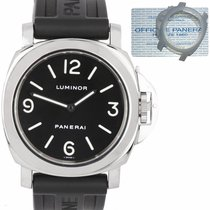 Panerai Luminor Base Steel 44mm Black Arabic numerals United States of America, New York, Smithtown