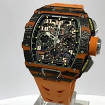 Richard Mille RM 011 RM11-03 CA-FQ New Carbon 50mm Automatic
