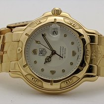 TAG Heuer 6000 Yellow gold 40mm Gold No numerals United States of America, Texas, El Paso
