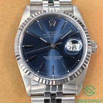 Rolex Datejust 16234 Meget god Stål 36mm Automatisk