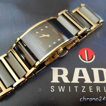 Rado Integral Acier 19mm Noir Sans chiffres