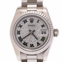 Rolex Or blanc Remontage automatique 25mm occasion Lady-Datejust
