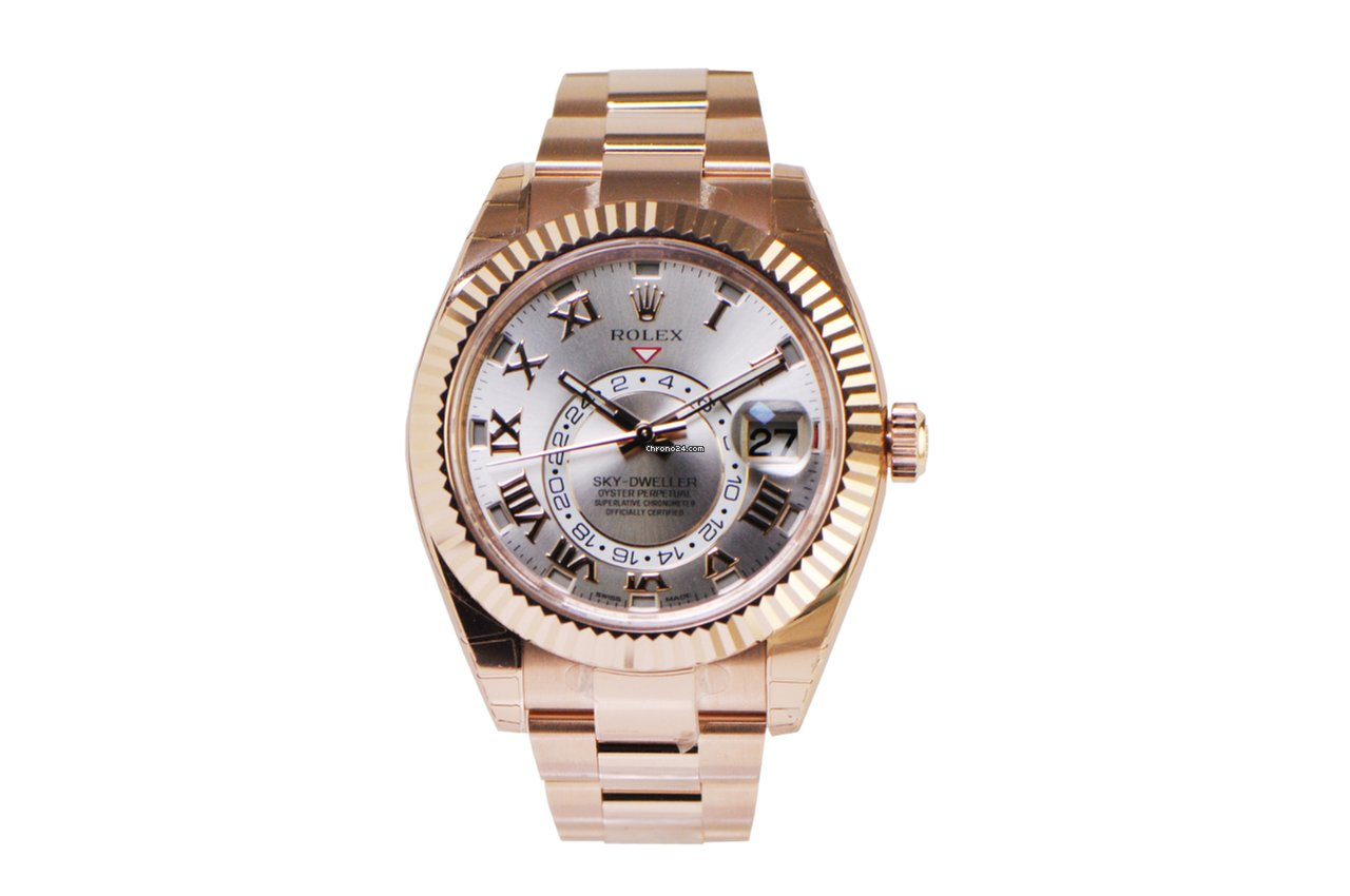 Rolex Sky,Dweller Rose Gold 326935 NEW for Price on