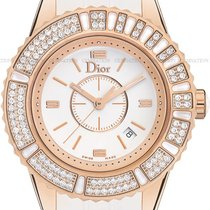 Dior Rose gold Quartz White new Christal