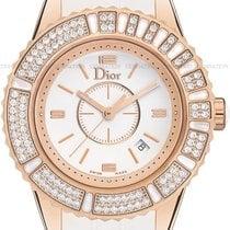 Dior Złoto różowe Kwarcowy Biały nowość Christal