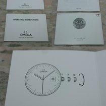 Omega vintage booklets service/instructions caliber 1424/1438/...