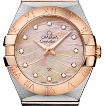 Omega Constellation Quartz 123.20.27.60.57.002 nouveau