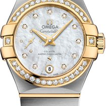 Omega Constellation Petite Seconde Gold/Steel 27mm Mother of pearl United States of America, New York, Airmont