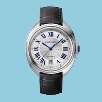 Cartier CLÉ 40 Stahl -NEU- incl. VAT Export possible