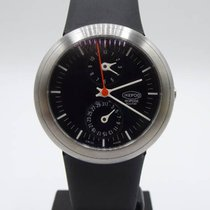 Ikepod Isopode Steel 39mm Black No numerals
