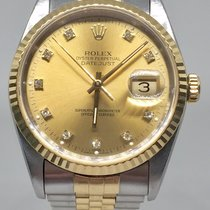 Rolex Datejust 16233 diamond dial