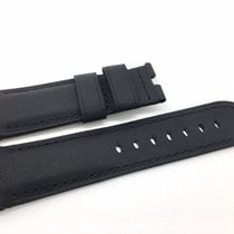Panerai Black Kevlar & Leather Band Strap for Luminor 44mm