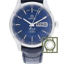 Omega De Ville Hour Vision Aço 41mm Azul
