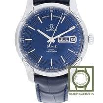 Omega De Ville Hour Vision Stahl 41mm Blau