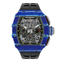Richard Mille RM 011 Carbon 50mm Proziran Bez brojeva