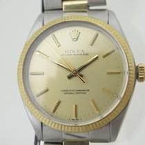 Rolex Oyster Perpetual 34 occasion 34mm Or jaune