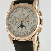Patek Philippe Perpetual Calendar Chronograph pre-owned 40mm Red gold