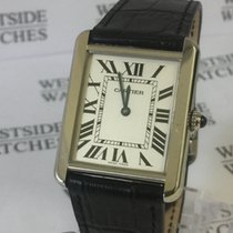 Cartier 2715 Stahl Tank Solo 34mm