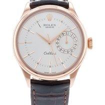 Rolex Cellini Date Rose gold 39mm Silver United States of America, Georgia, Atlanta
