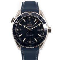 Omega Seamaster Planet Ocean Titanium 45.5mm Blue Arabic numerals