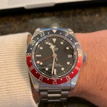 Tudor 79830RB Steel 2019 Black Bay GMT 41mm pre-owned United States of America, Illinois, Chicago