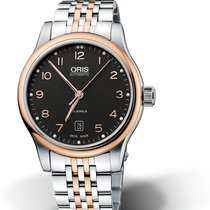 Oris Classic Gold/Steel 42mm Black