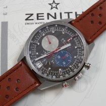 Zenith El Primero 36'000 VpH Zeljezo 42mm Siv Bez brojeva