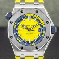 Audemars Piguet pre-owned Automatic 42mm Yellow Sapphire Glass 30 ATM