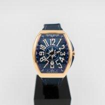 Franck Muller Rose gold Automatic Blue Arabic numerals 44mm new Vanguard