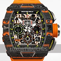 Richard Mille RM 011 Carbon 49.9mm Transparent