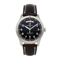 Breitling Steel Automatic Black Arabic numerals 41mm pre-owned Navitimer 8