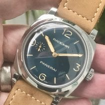 Panerai Radiomir 1940 pre-owned 47mm Blue Leather