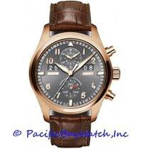 IWC Pilot Spitfire Perpetual Calendar Digital Date-Month nuevo Automático Cronógrafo Reloj con estuche y documentos originales IW379103