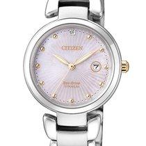 Citizen Titanium 28.5mm Quartz EW2506-81Y new