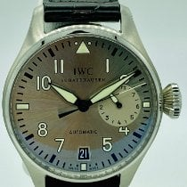 IWC Big Pilot Steel 46mm Grey Arabic numerals United States of America, New York, NEW YORK