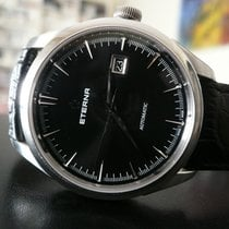 Eterna 1948 Acero 41,5mm Negro