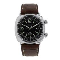Panerai Radiomir GMT Steel 42mm Black No numerals United States of America, New York, New York