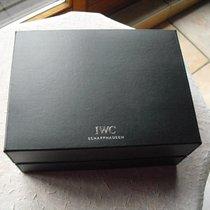 IWC große schwarze Lederbox